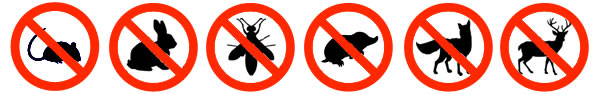 Pests found at Commercial Premises and Businesses